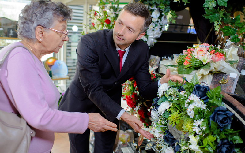 Selecting A Funeral Director photo