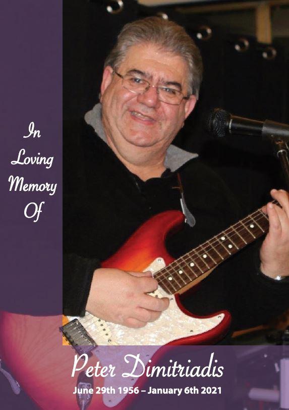In loving memory of Peter Dimitriadis – 64 years photo